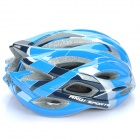 Cool Sports Cycling Helmet - Blue + Black + Silver