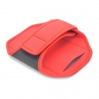 Sporty Armband with Velcro for Samsung Galaxy Note / i9220 / GT-N7000 - Red