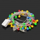 8.8W 72-LED 8-Mode Multi-Colored Christmas Decoration String Lights (10-Meter / 220~240V)