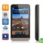"B72M Android OS V2.3 WCDMA Smartphone w/ 4.0"" Capacitive, Wi-Fi, Dual SIM and GPS - Dark Gray"