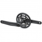 Aluminum 22/32/44 170mm 9-Speed Mountain Bike Crank - Black
