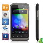 "W690 Android OS V2.3 WCDMA Smartphone w/ 4.0"" Capacitive, Wi-Fi, Dual SIM and GPS - Dark Gray"