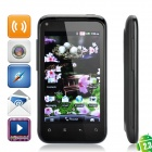 "G11 Android 2.3 WCDMA Smartphone w/ 4.0"" TFT Capacitive, Wi-Fi, Dual SIM and GPS - Black"