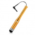 Stylus Pen w/ Screwdriver & 3.5mm Anti-Dust Plug for iPhone 4 / 4S - Golden