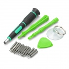 Pro'skit Professional Disassembly Repairing Tools Set for Iphone/Ipad/Ipod - Green