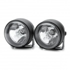 NS60 55W 4000K 1000-Lumen H3 Halogen Yellow Light Car Fog Lamps (DC 12V / Pair)