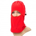 Outdoor Sports Cycling Fleece Fabric Mask - Red