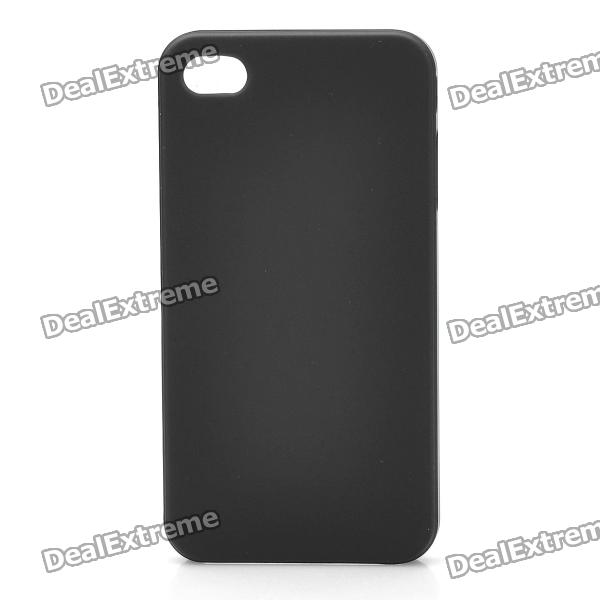 Protective Super Slim PC Case Cover for iPhone 4 - Black