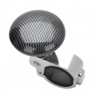 Car Steering Wheel Spinner Knob Power Handle Grip Ball - Silver + Grey
