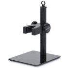 Adjustable Working station for 7~20mm Microscope - Black