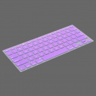 Protective Keyboard Cover w/ Anti-Dust Plugs Kit for Apple MacBook Air / Pro - Purple