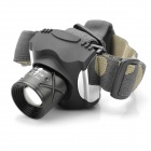 High Power Cree Q5 200LM 3-Mode White Light LED Headlamp - Silver + Black