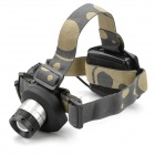 High Power Cree Q5 200LM 3-Mode 1-LED White Light Headlamp (3 x AA/3.6-4.5V)