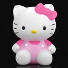 Cute Hello Kitty Style Coin Bank - Pink + White