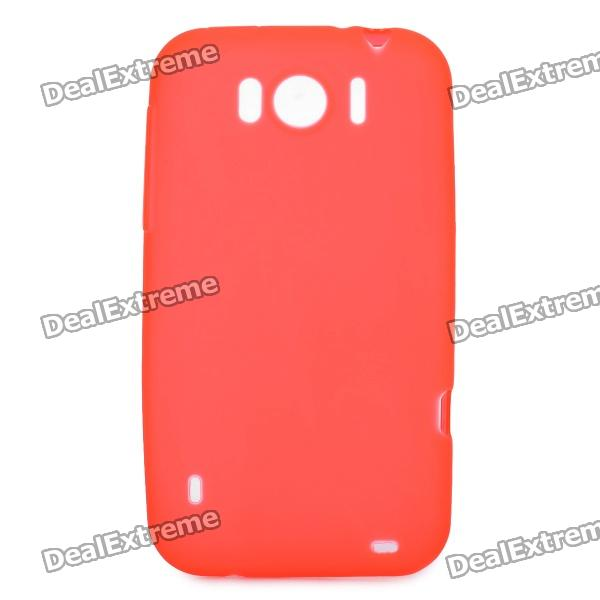 Protective Soft PVC Back Case for HTC Sensation XL X315e G21 - Red
