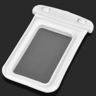 Universal Waterproof Bag with Strap for iPhone / Cell Phone - White