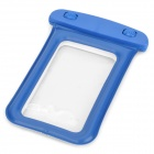 Universal Waterproof Bag with Strap for IPHONE / Cell Phone - Blue