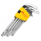Rewin Hex Wrench with Ball Head (9-Piece)