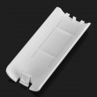 Battery Back Door Shell Cover for Wii Controller - White
