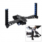 Multi-Function Shoulder Rig for DSLR Cameras - Grey + Blue + Black