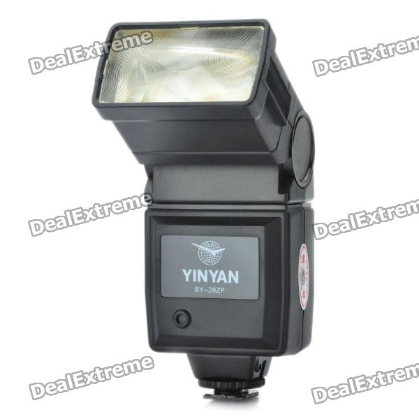 BY-26 Flash Speedlite For Canon EOS 1D + More (4 x AA)