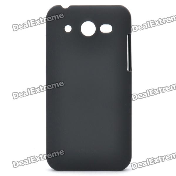 ROCK NakedShell Protective PC Back Case w/ Screen Guard & Cleaning Cloth for Huawei U8860 - Black