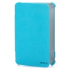 ROCK Protective PU Leather Case for Samsung P6200 - Blue