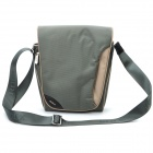 ROCK Stylish Shoulder Bag for iPad / Tablet PC / Camera - Grey Green
