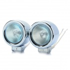 55W 3000K 1000-Lumen H3 Halogen Yellow Light Car Fog Lamps (DC 12V / Pair)