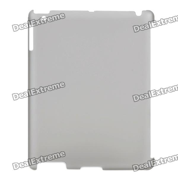 Protective Matte PC Case for iPad 2 Tablet PC - Light Grey