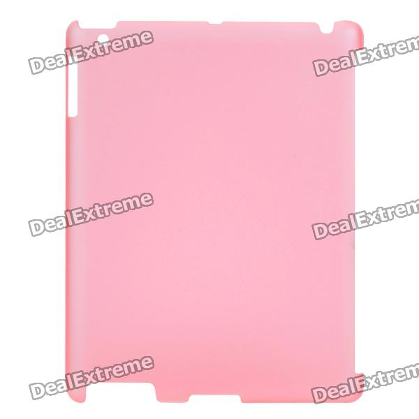 Protective Matte PC Case for iPad 2 Tablet PC - Light Red