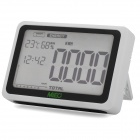 "MIEO 4.2"" LCD Wireless Home Electricity Energy Monitor - White (3 x AA + 3 x AAA)"