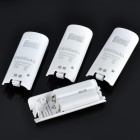 USB Dual Battery Charging Dock Station w/ 4 x 2800mAh Rechargeable Battery Packs for Wii