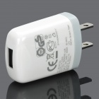 Mini Charging Power Adapter Head for HTC - White (US Plug)
