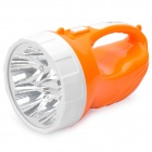 Rechargeable 150-Lumen 2-Mode 5-LED White Light Spotlight Searchlight - Orange + White