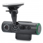 IPU F6000 1080P Wide Angle 5MP CMOS Car DVR Camcorder w/ TV-Out / G-Sensor / Mini HDMI (2&quot; LCD)