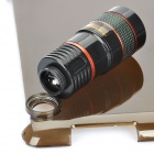 8x Optical Zoom Lens Camera Telescope + Protective Back Case for iPad 2