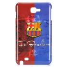 Football Club Logo Protective Back Cover Case for Samsung Galaxy Note i9220/gt-n7000 - FC Barcelona