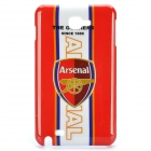 Football Club Logo Protective Back Cover Case for Samsung Galaxy Note i9220/gt-n7000 - Arsenal