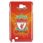 Football Club Logo Protective Back Cover Case for Samsung Galaxy Note i9220/gt-n7000 - Liverpool