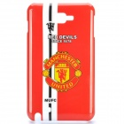Football Club Logo Protective Back Cover for Samsung Galaxy Note i9220/gt-n7000 - Manchester United