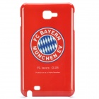 Football Club Logo Protective Back Cover Case for Samsung Galaxy Note i9220/gt-n7000 - Bayern