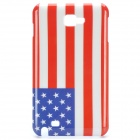 Protective Back Cover Case for Samsung Galaxy Note i9220/gt-n7000 - American Flag