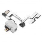 Replacement Headphone Audio Jack Flex Cable for iPhone 4 - Light Grey