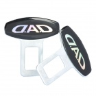 Universal Safety Seat Belt Buckles - Pair