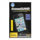 Protective Crystal Screen Protector Guard for iPhone 4 / 4S - Transparent