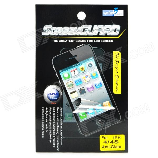 Protective Matte Screen Protector Guard for Iphone 4 / 4S matte aa grade pet screen protector for iphone 4 4s