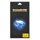 Protective Screen Protector Guard for Iphone 4 / 4S - Blue