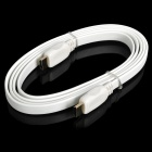 HDMI 1.4 Male to Male Flat Cable - White (180cm)