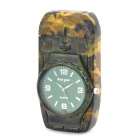 Stylish Cool 2-in-1LED Colorful Light Metal Watch + Windproof Gas Lighter ( 1 x SR626W)